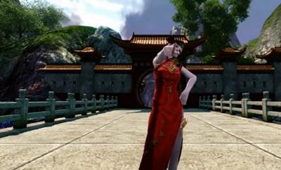 上古世纪旗袍女装秀