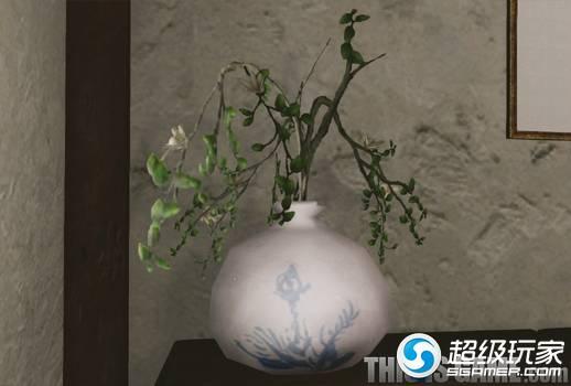 上古世纪樱花树枝花瓶