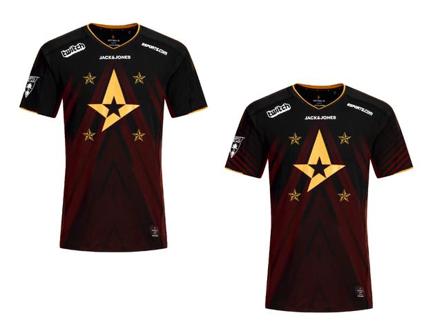 网友请愿Astralis制作四星T恤,你喜欢吗?