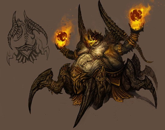 黑盔甲设计图-如何设计一个暗黑破坏神3的恶魔