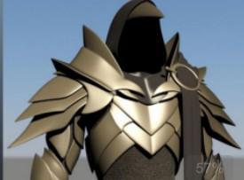 暗黑3堕落天使3D模型