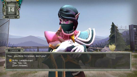 玩家自制mod:dota2变身成美少女游戏?