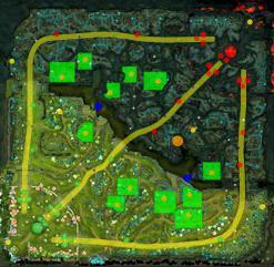 国外技术宅再出山(2):教你读懂DOTA2地图