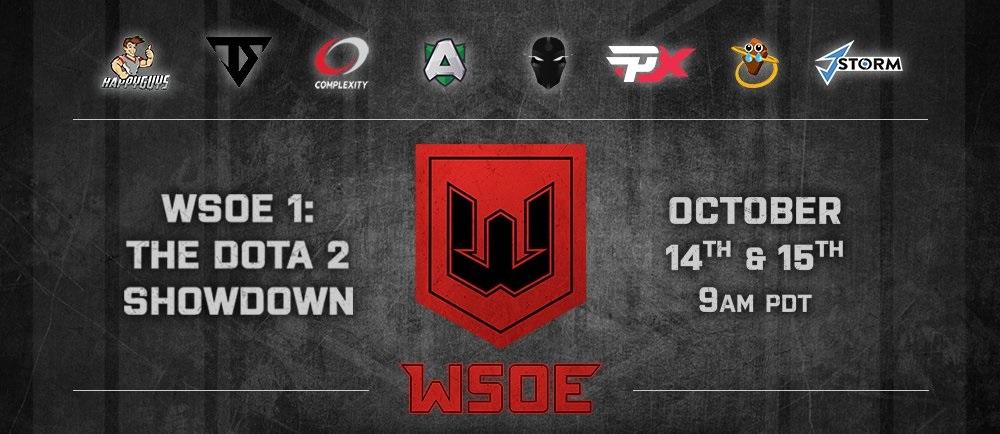 TS受邀参加WSOE赛事,六支Major与Minor级战队陪练
