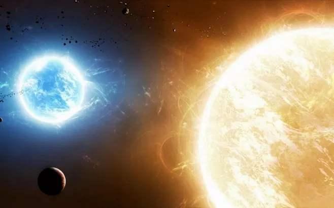 宇宙中的星体