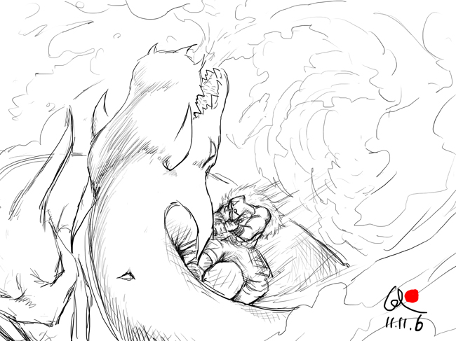 dota2原创手绘英雄 天气变冷谨防感冒