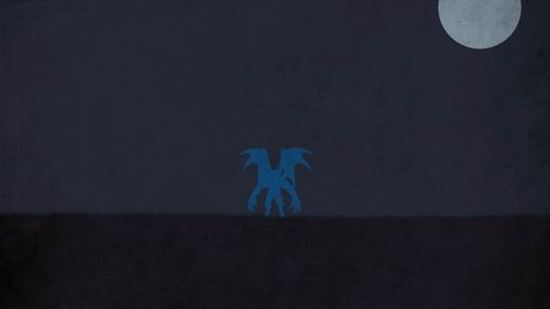 dota蓝猫电脑桌面壁纸
