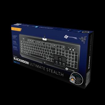 RAZER发布新款CLG战队限量黑寡妇蜘蛛机械游戏键盘