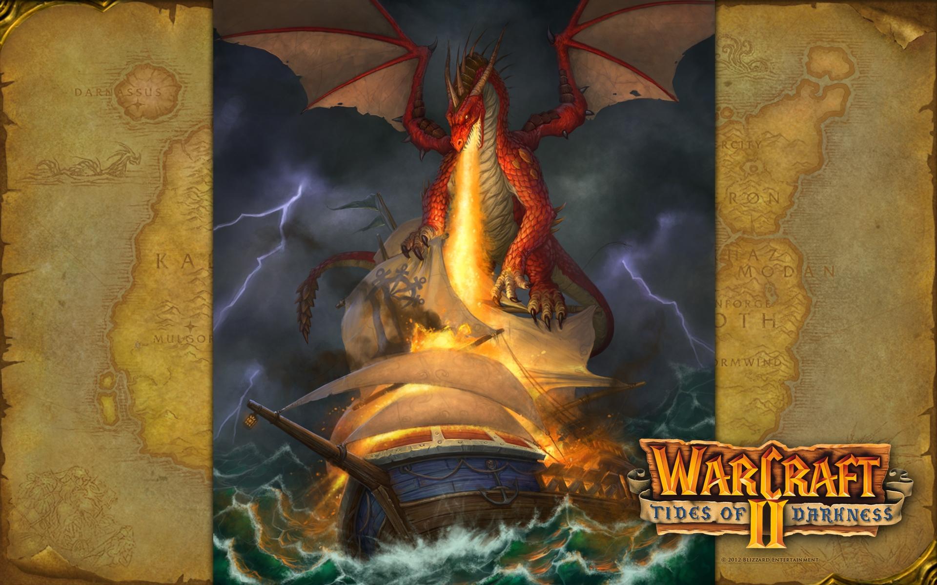 世界 历史/魔兽争霸II:黑潮