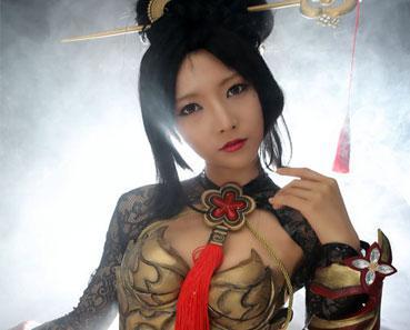 韩棉花糖cos团队演绎剑灵绝世美人南素柔