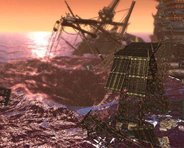 剑灵将开的新副本 沉默的海贼船高清壁纸