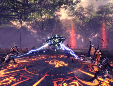 剑灵全新副本 激战之黑森林高清壁纸