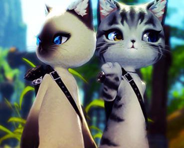 萌萌哒小喵 剑灵海外玩家分享萌猫截图