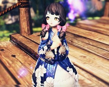 浓郁日系风 剑灵日服和服类时装展示