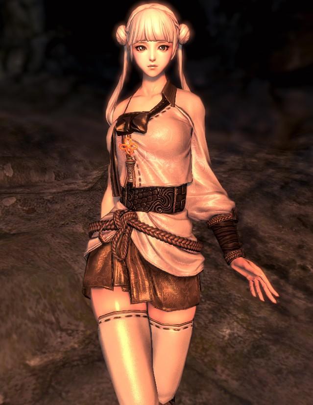 剑灵清纯系美女捏人图赏