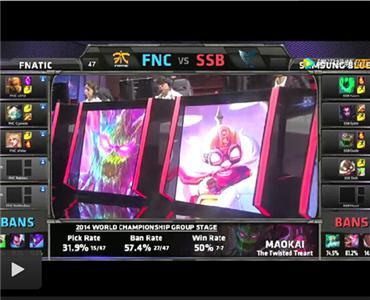 FNC vs SSB 2014全球总决赛 C组小组赛