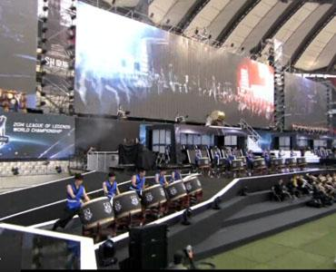 S4全球总决赛开场表演 梦龙乐队献唱英雄联盟主题曲