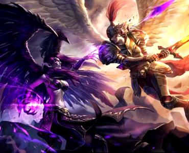 超神进行曲:堕落天使莫甘娜 堕落升华
