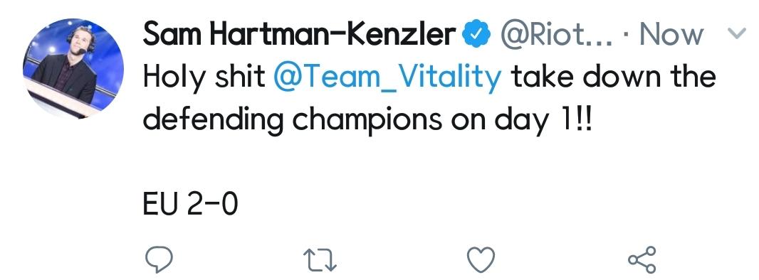 [外网言论] VIT打野选手Kikis:B组很轻松 我们四分之一决赛见