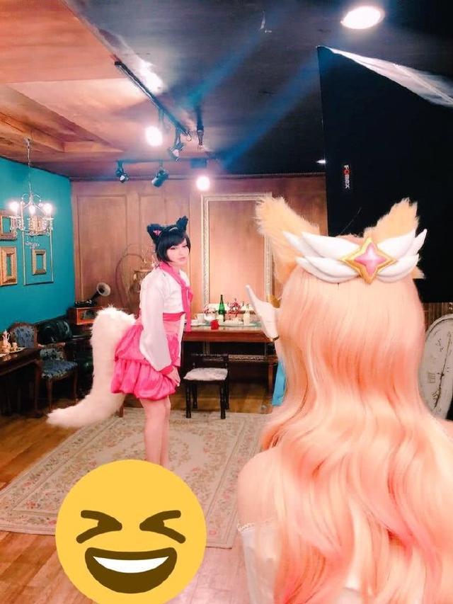C9女装大佬Sneaky又出新作,网友:这个狐狸有点迷人!