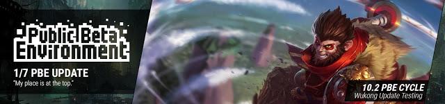 体验服更新孙悟空改动:被动新增护盾 W不能翻墙