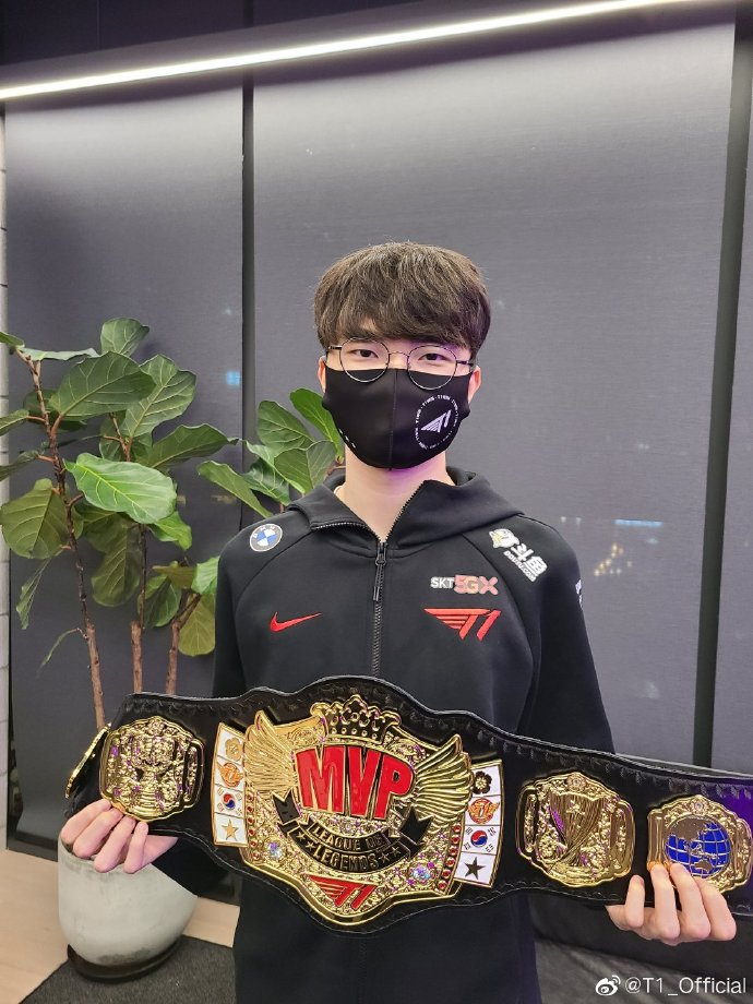 T1战胜HLE:选定的MVP是Faker