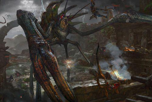 怪物猎人OL砦蟹 新怪物外观与资料介绍