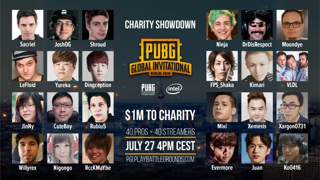PGI将举办名人慈善赛 多位知名主播参加