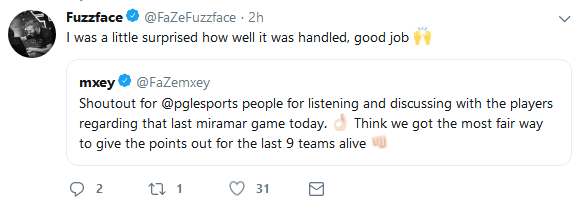 FaZe战队mxey谈比赛掉线:主办方处理方式已经最大程度体现公平