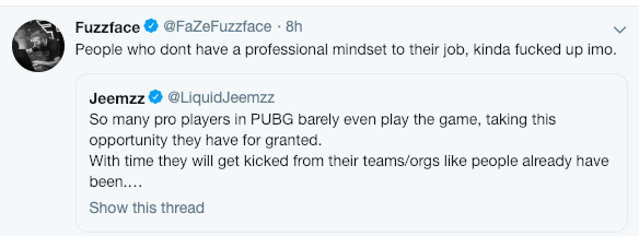 超半数职业队伍未参加训练赛 Jeemzz怒火中烧发文吐槽
