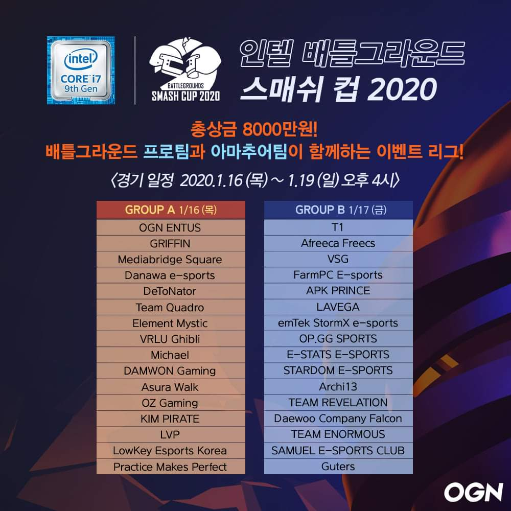 BSC2020赛程赛制及参赛队伍公布:每场比赛不同阶段击杀分不同