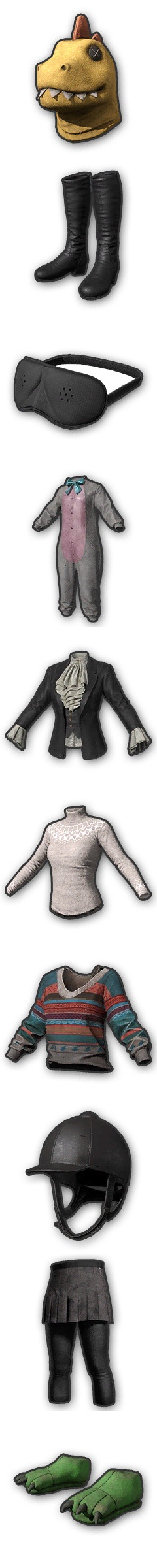 外网爆料:PUBG第七季新皮肤以及服装饰品即将上线