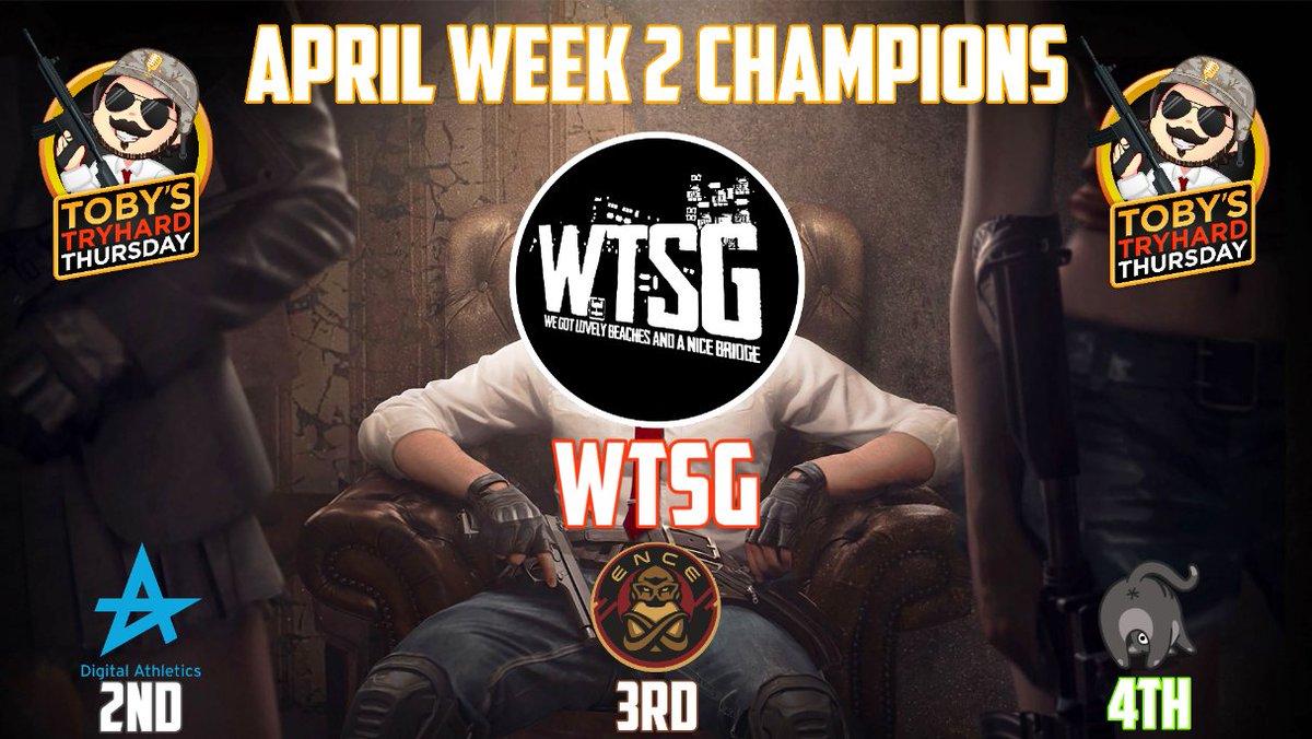 TTT周四杯:WTSG末局吃鸡反超夺冠