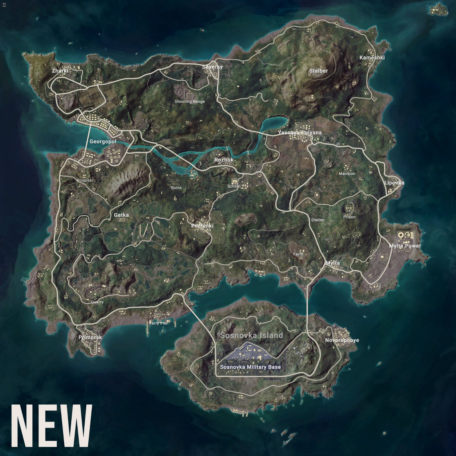 艾伦格加入诸多新码头 新旧对比你能找出不同吗?
