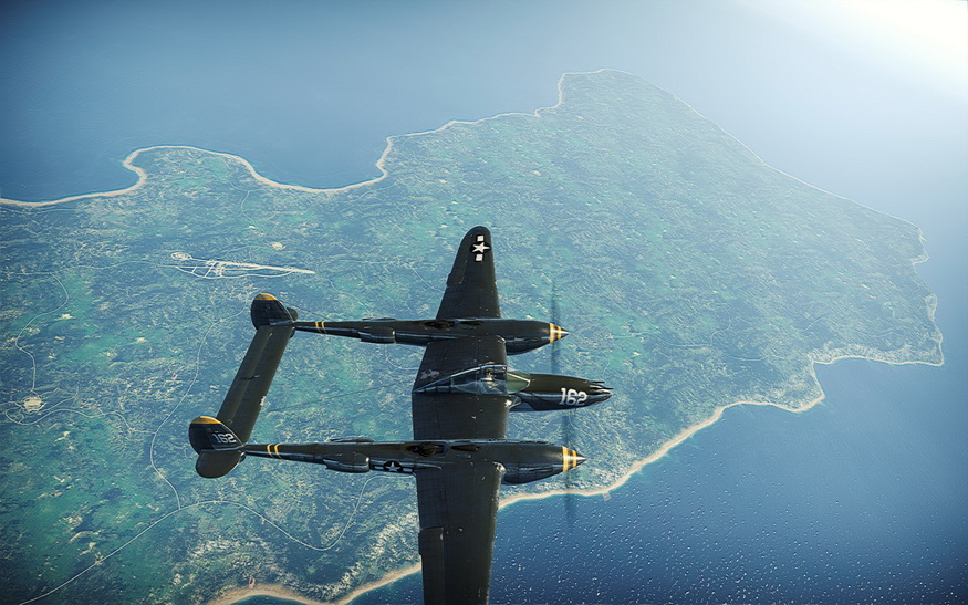 战争雷霆舰船实景截图赏析 战争雷霆地图风景截图:珍珠港 战争雷霆