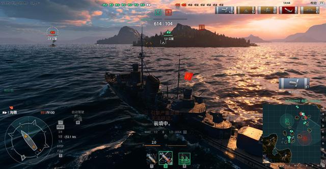 战舰世界公测评测:画面更加细腻