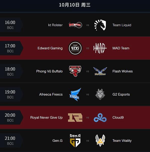 S8小组赛今日前瞻:EDG与RNG登场迎敌