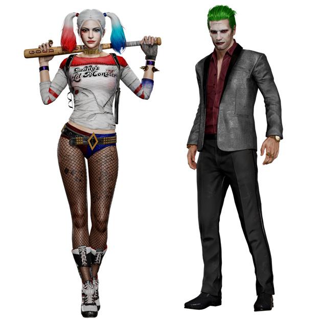 官方快讯:小丑和哈莉ㆍ奎茵正式出战绝地求生