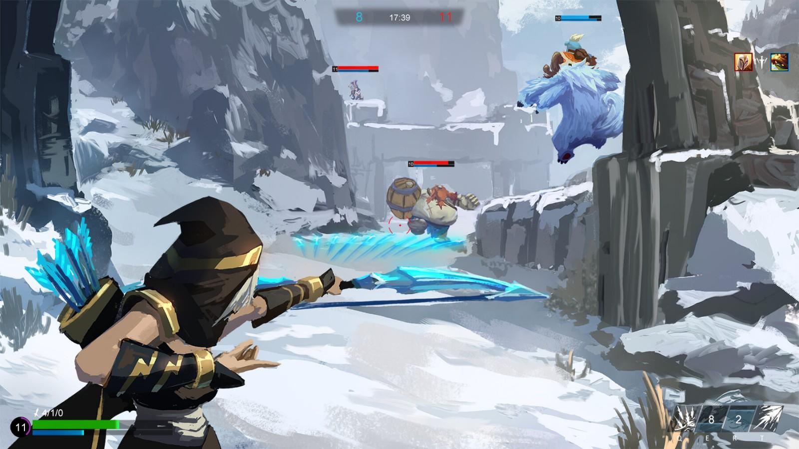 如果英雄联盟是一款射击类游戏是什么样的体验?