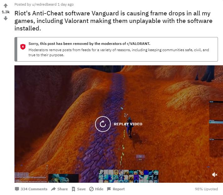 CSGO玩家注意!安装Valorant或导致游戏FPS下降