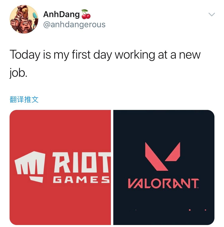 原《守望先锋》画师加入拳头《Valorant》项目