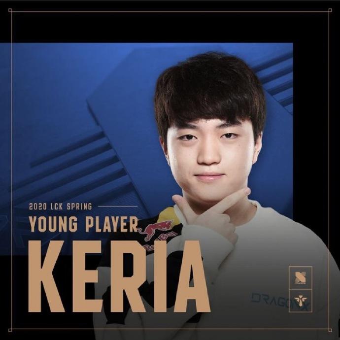 T1金教练当选LCK最佳教练 DRX辅助Keria当选最佳新秀