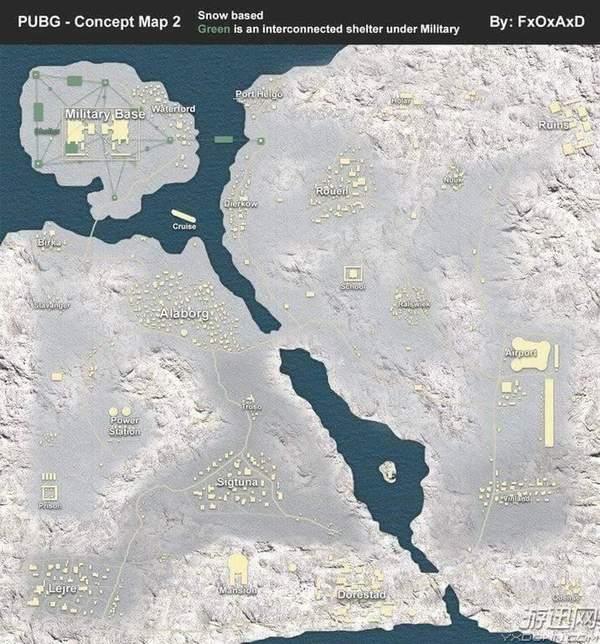 《绝地求生》雪地地图细节曝光!网友:吉利服改企鹅服
