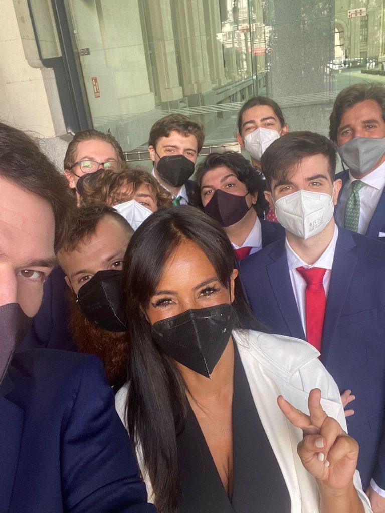 MAD战队受邀拜访马德里市政厅
